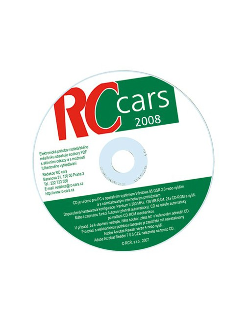 CD-ROM RC cars 2008