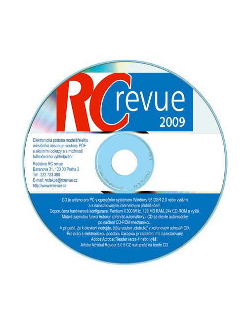 CD-ROM RC revue 2009