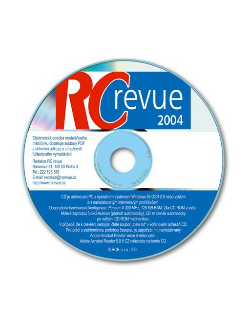 CD-ROM RC revue 2004