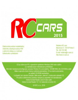 DVD-ROM RC cars 2015